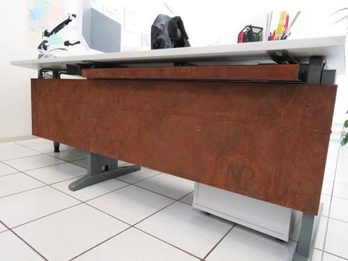 Büro Tischabdeckung - Aus ALT mach NEU - Lohne