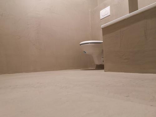 Mikrozement - Industrie Look - Badezimmer fugenlos