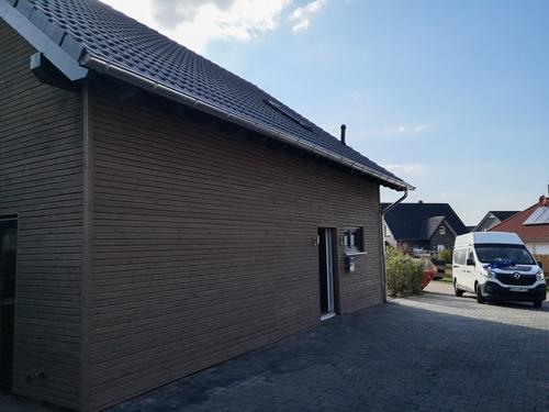Holzfassade - Haussanierung Drebber, Martin Poplawski