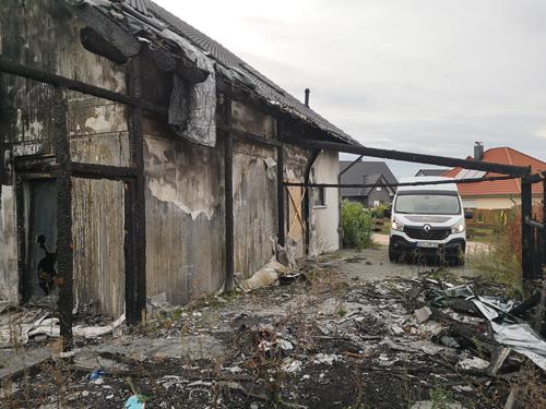 Sanierung nach Hausbrand - Malermeister Poplawski 2020
