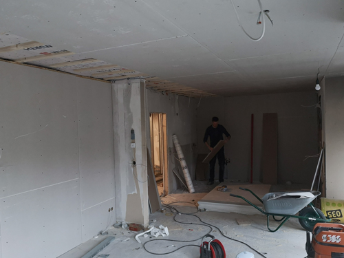 Neue Raumtrennung - Malerfachbetrieb Vechta Poplawski