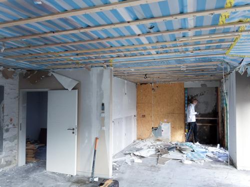 Neue Raumtrennung - Malerfachbetrieb Vechta Poplawski 2020