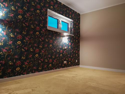 Vliestapete und Teppich - Haussanierung Malermeister Poplawski