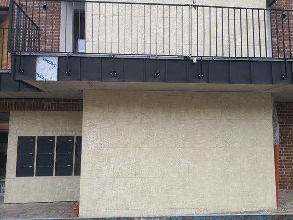 Fassade Sanierung Naturstein Optik Vechta 2020