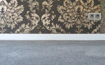 Wohnung renoviert mit edlen Omexco Tapeten