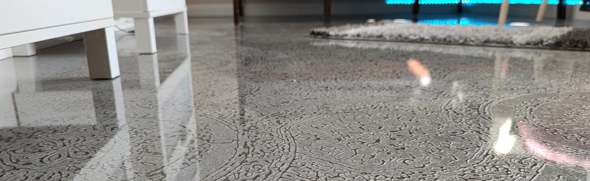 Tischplatte Oberflächenveredelung